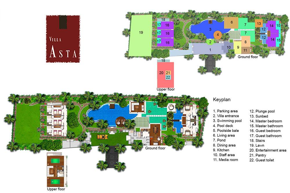 Villa Asta - Floorplan