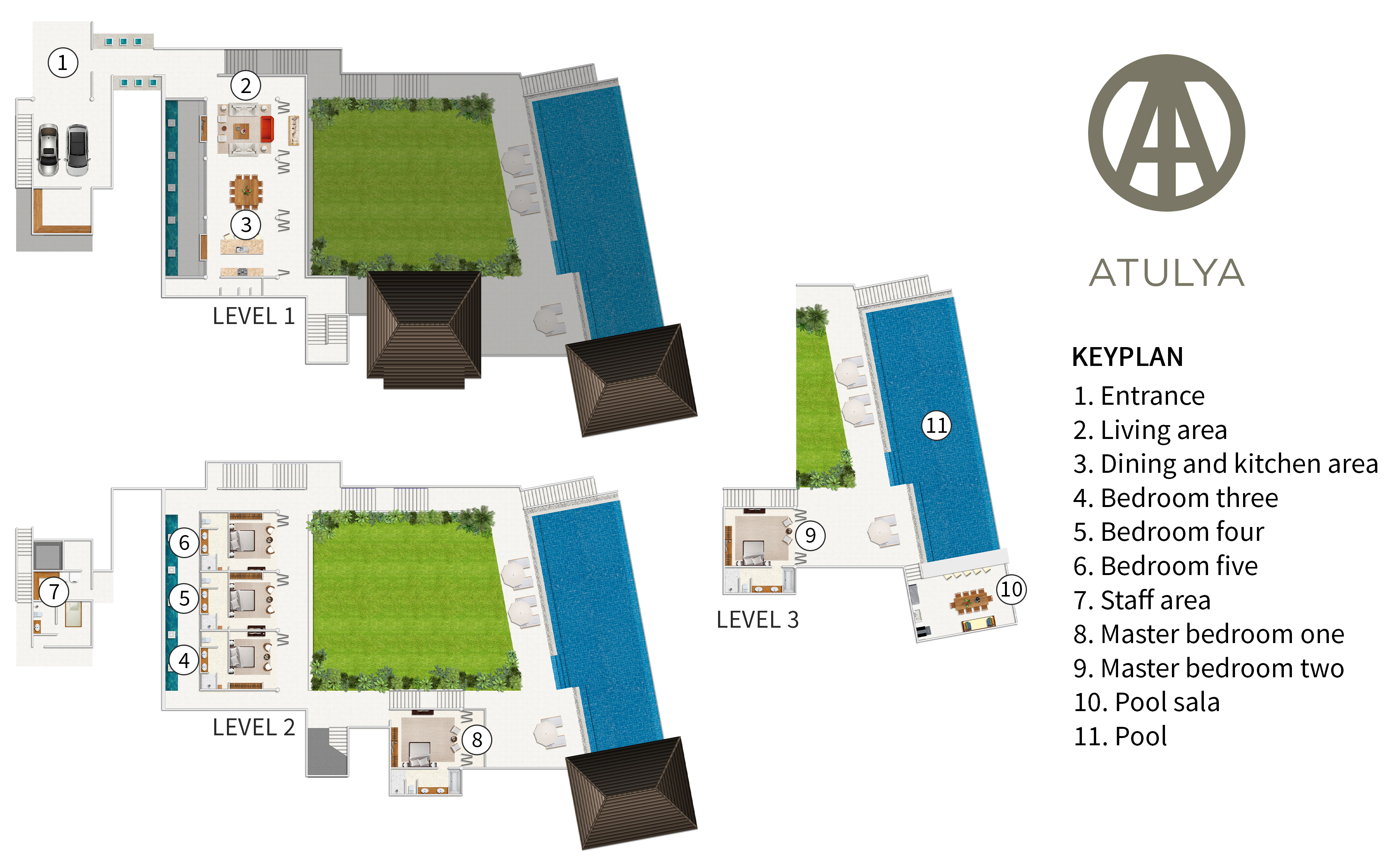 Panacea Retreat Residence - Atulya - Floorplan