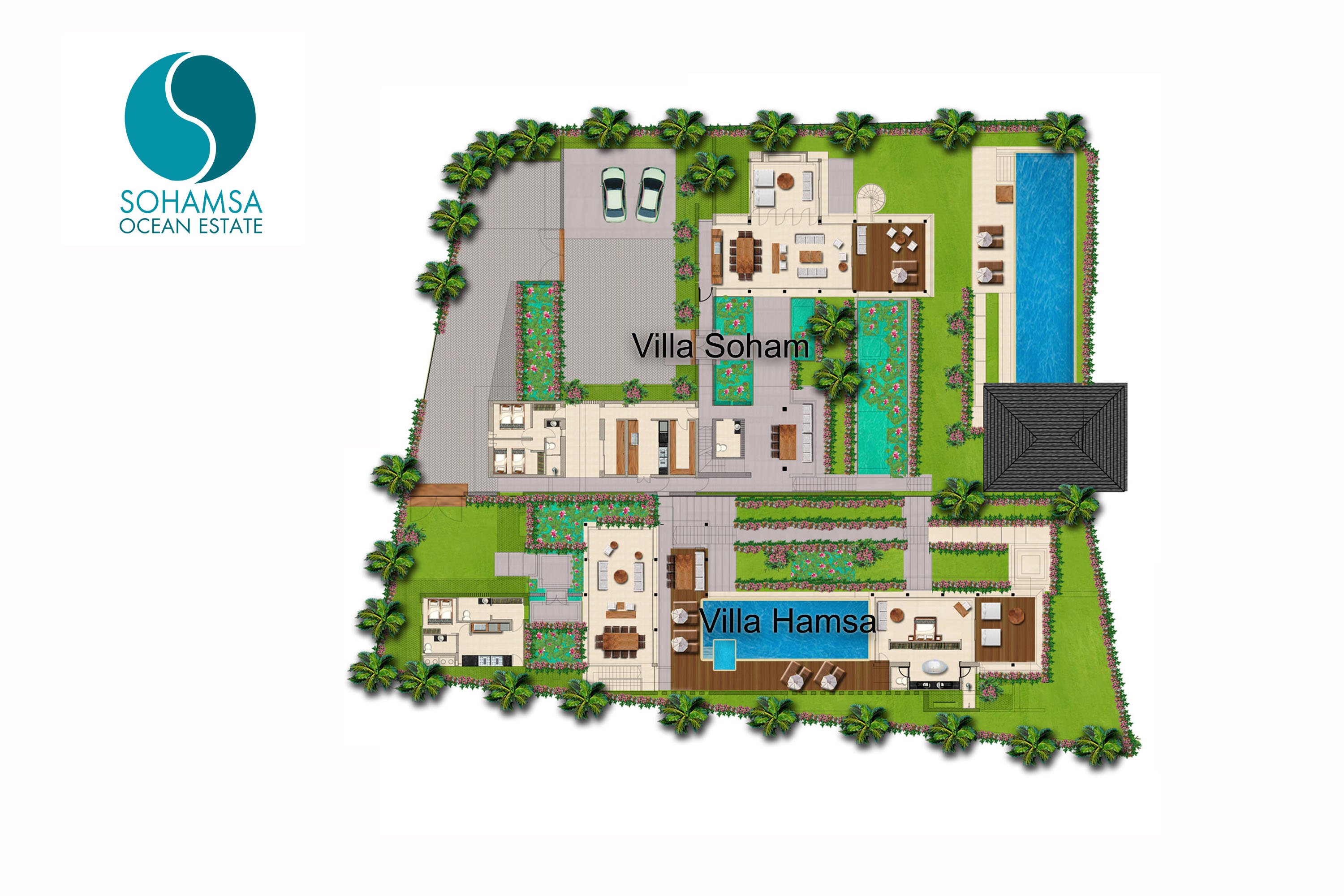 Sohamsa Ocean Estate - Floorplan