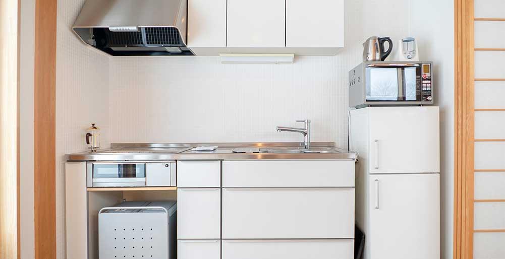 Sekka Ni 1 - Compact kitchen area