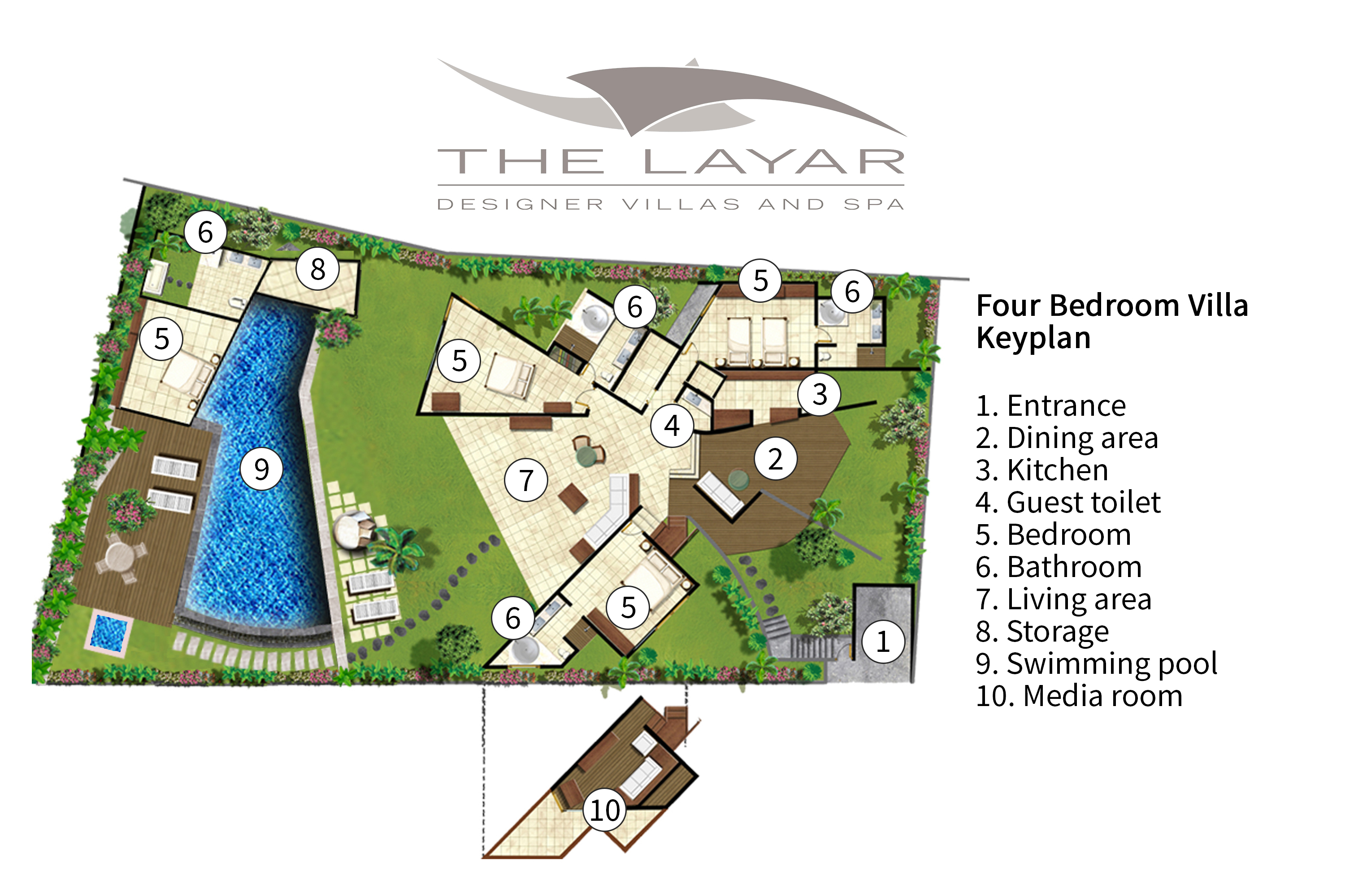 The Layar 4BR - Floorplan