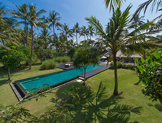 Villa Samadhana - Gardens and pool