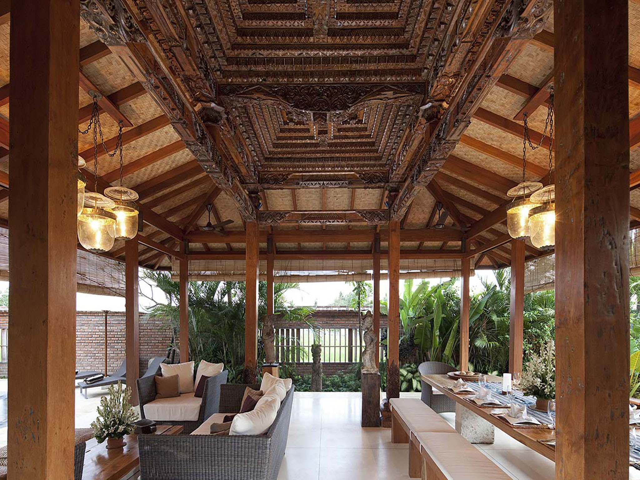 Villa Amy - Living and dining areas - Dea Villas - Villa Amy, Canggu, Bali