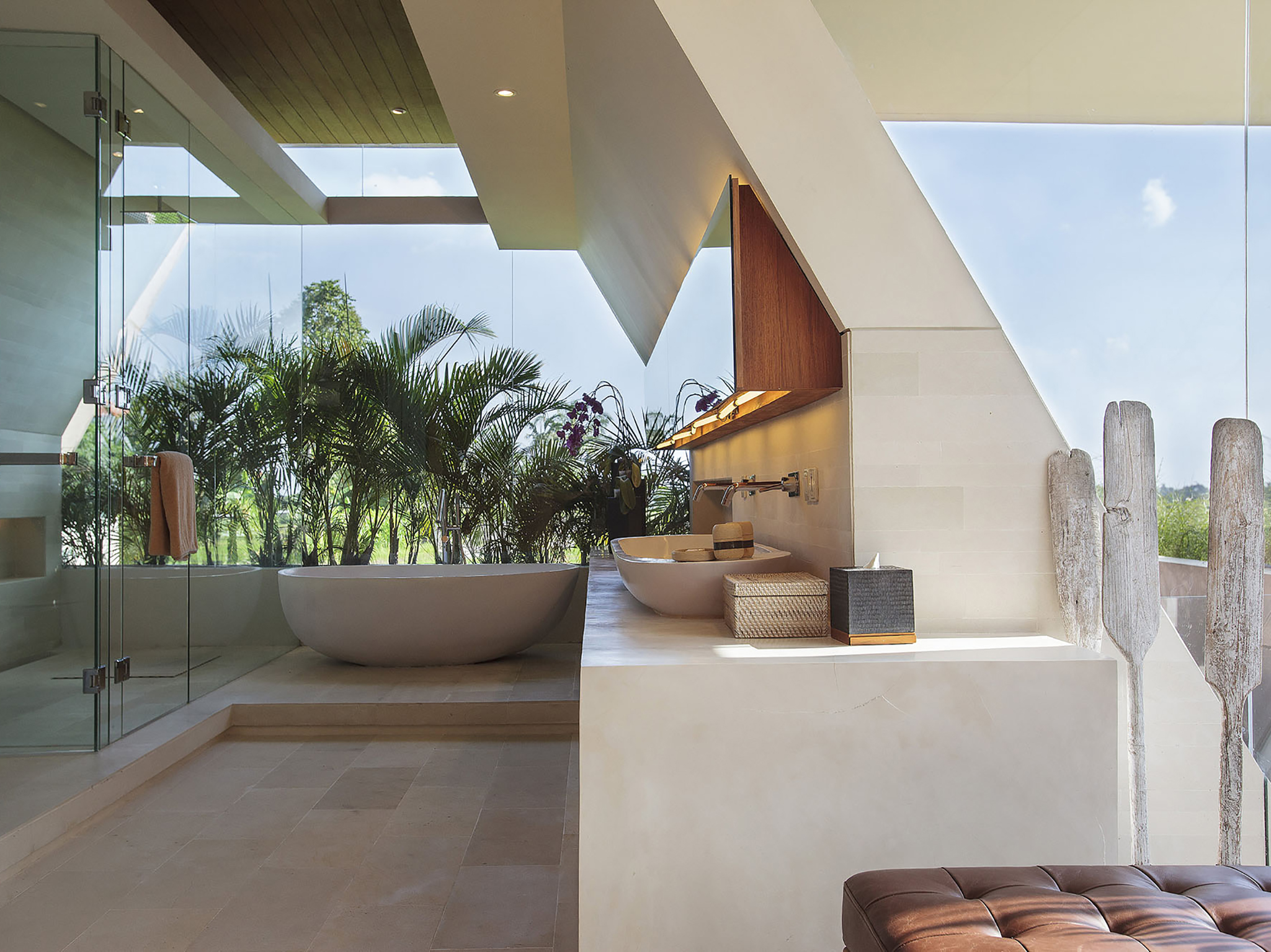 The Iman Villa - Spacious master ensuite - The Iman Villa, Canggu, Bali