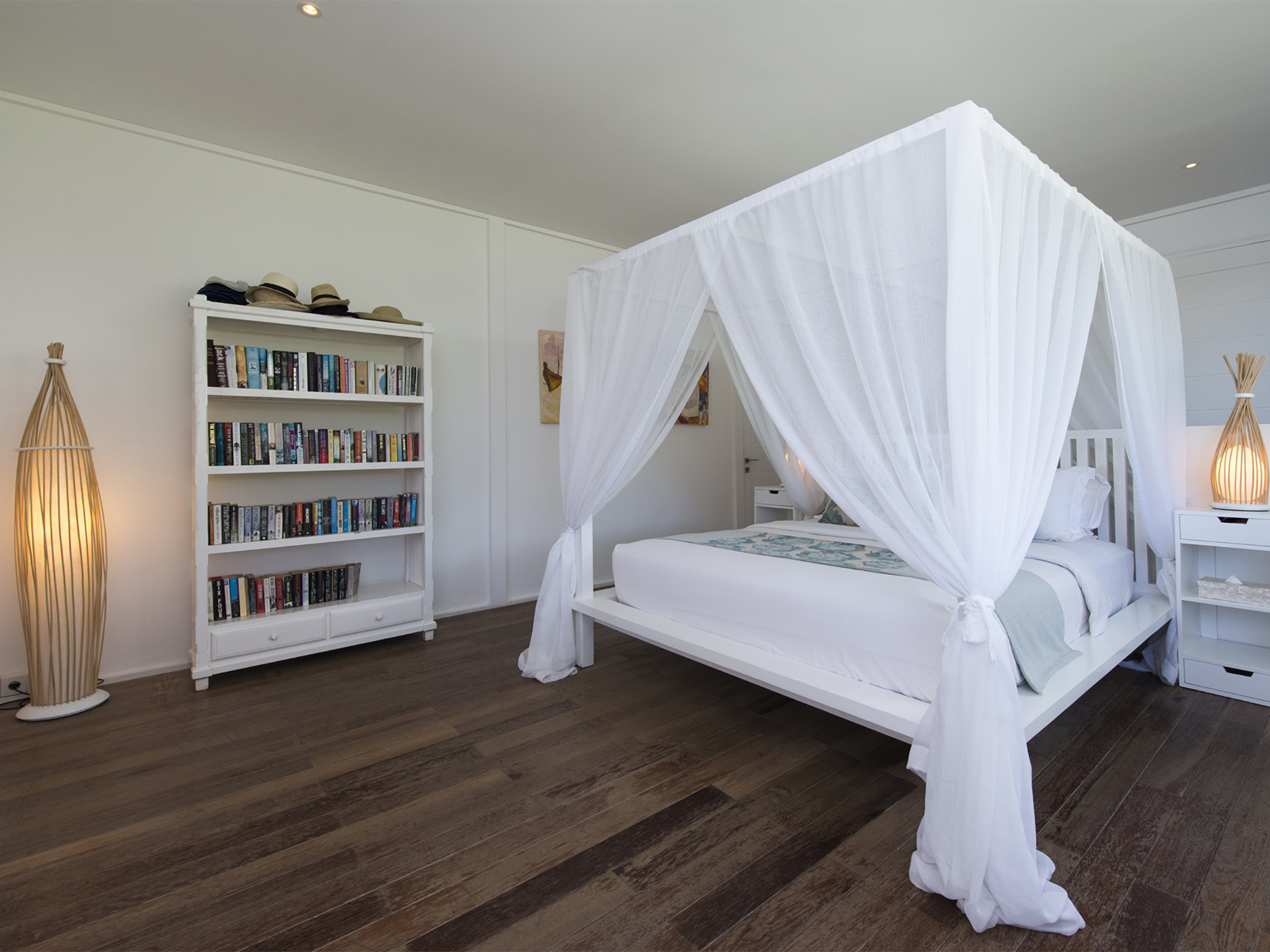 The Beach Shack - Contemporary elegance of guest bedroom
