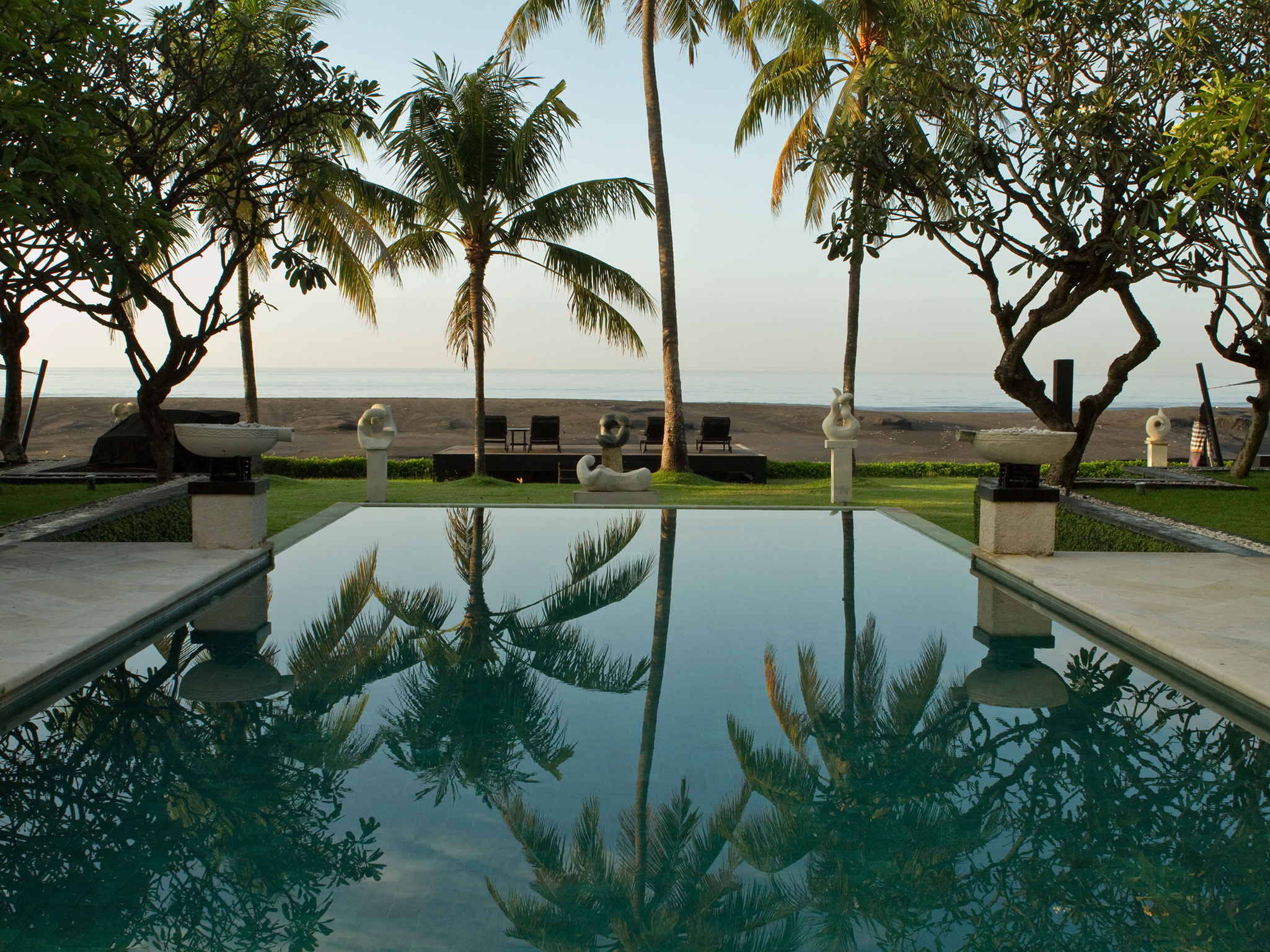 The Ylang Ylang - Mornings by the pool - The Ylang Ylang, Ketewel, Bali