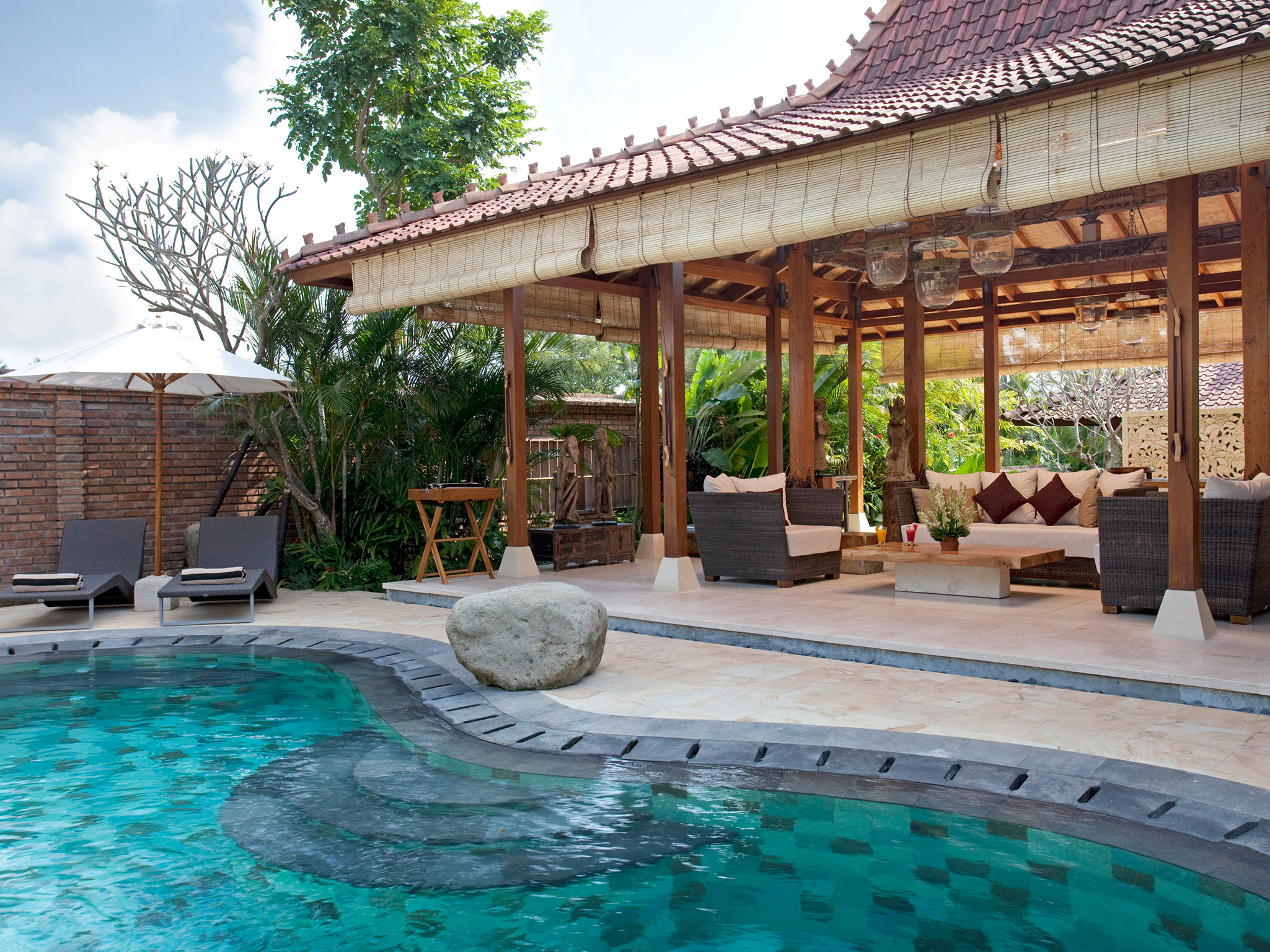 2. Villa Amy - Pool and living pavillion - Dea Villas - Villa Amy, Canggu, Bali