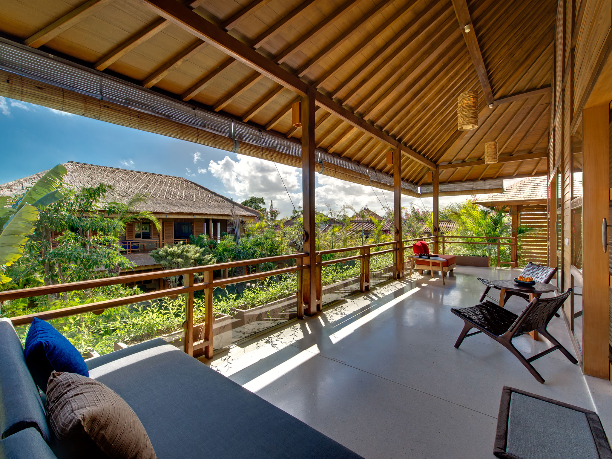 Villa Kinara - Balcony above living room - Villa Kinara, ,