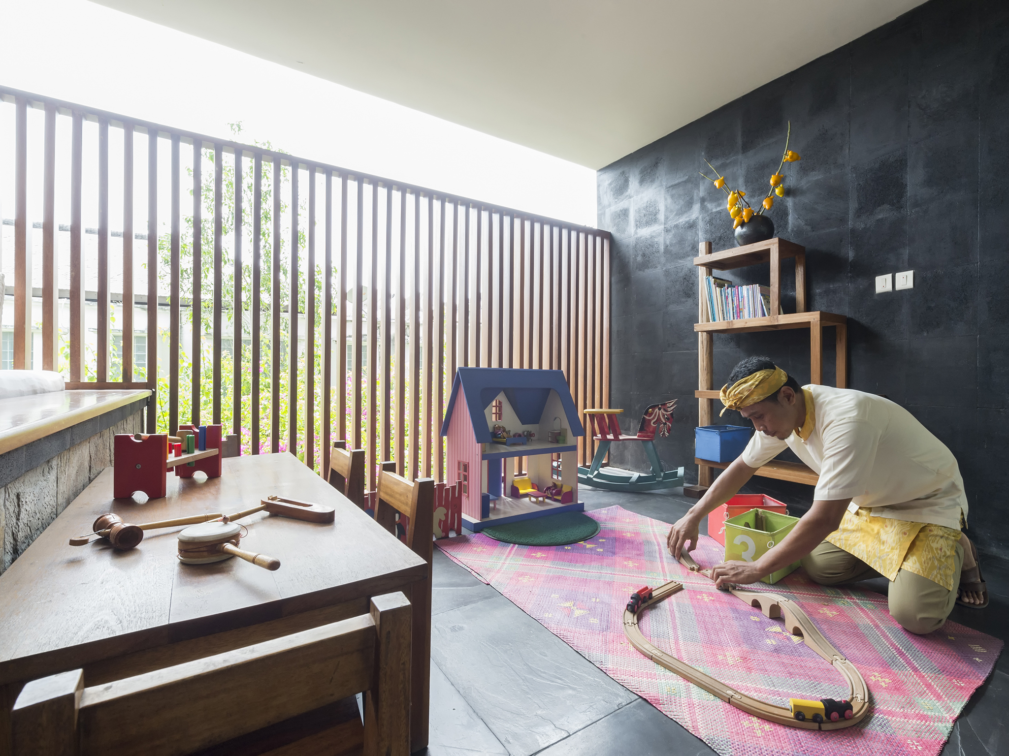 The Longhouse - Children's playroom - The Longhouse, Jimbaran, Bali
