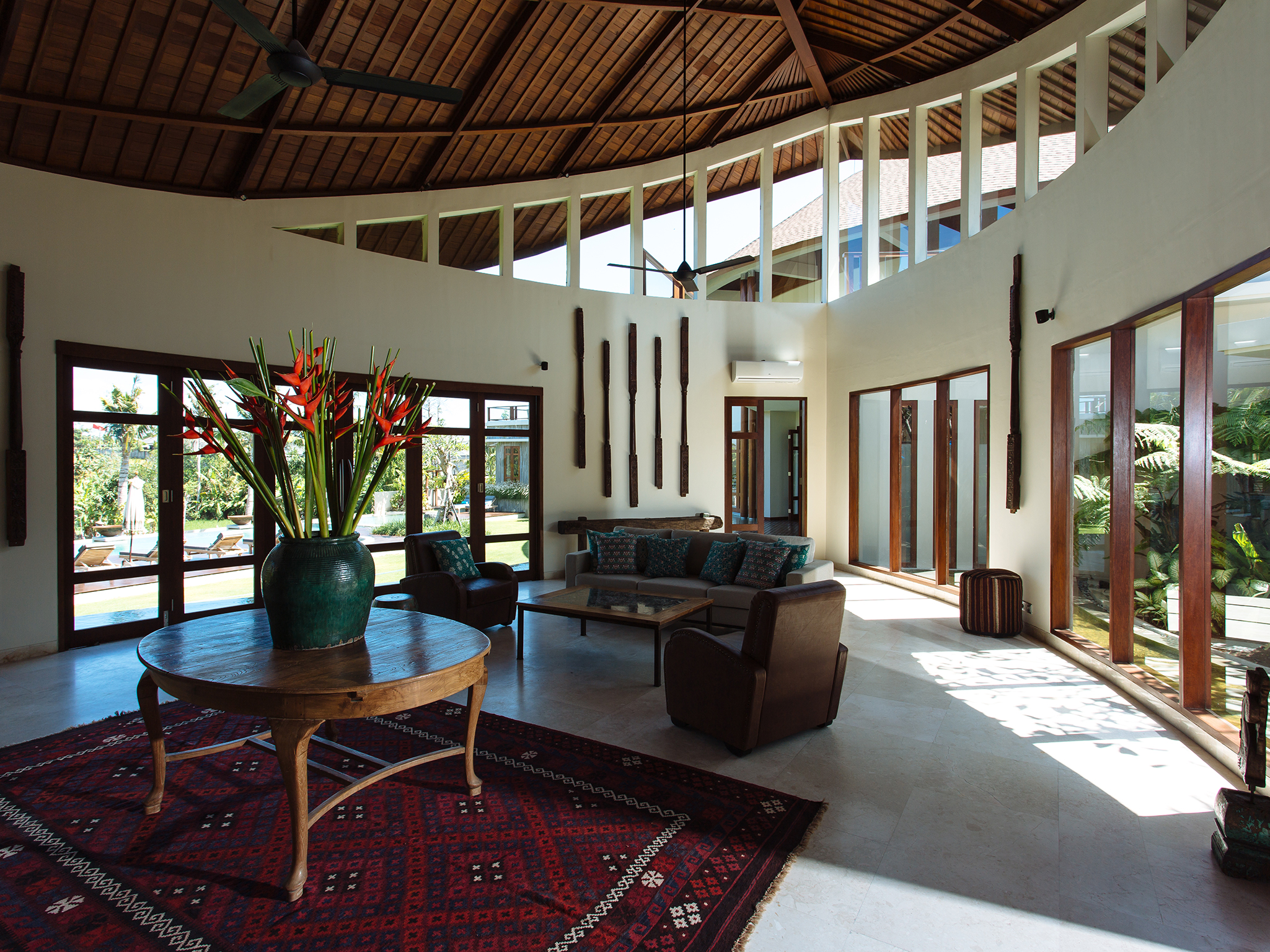 Villa Umah Daun - Living area center table - Umah Daun, ,