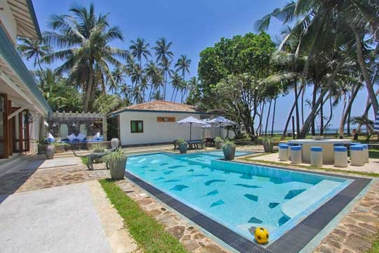 Swimming Pool - Mihiri Beach House, Galle, South Coast
