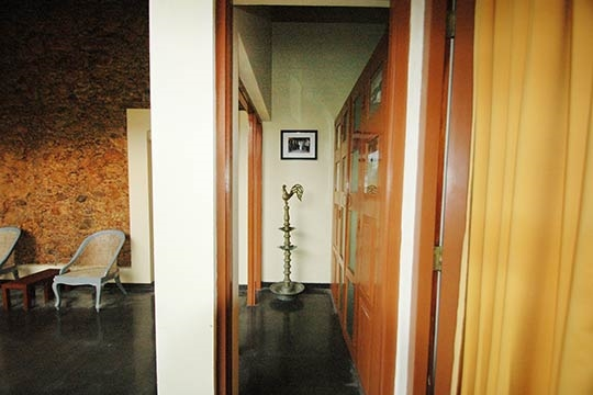 Hallway to Courtyard - The Old Lady at the Sea, Galle, South Coast