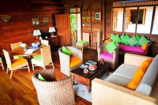 Living and Dining - The Teak House, Tangalle, South Coast