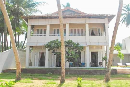 Villa Facade - Sri Villas - Sagara (Villa One), Bentota, West Coast