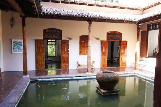 Courtyard Pond - Illuketia, Inland Galle, South Coast