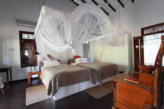Bedroom Pond House - Illuketia, Inland Galle, South Coast