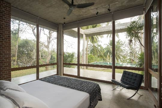Master Bedroom View - Walatta House, Tangalle, South Coast