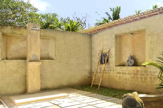 Outdoor Shower - Villa Kumara, Mirissa, South Coast