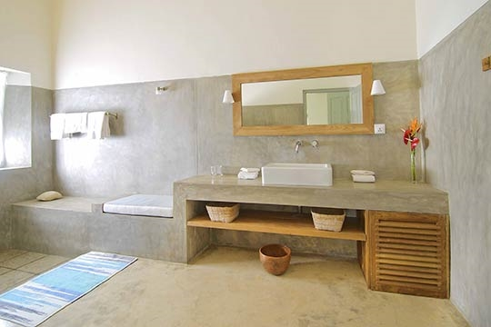 Bathroom Bedroom 4 - Villa Suriyawatta, Weligama, South Coast