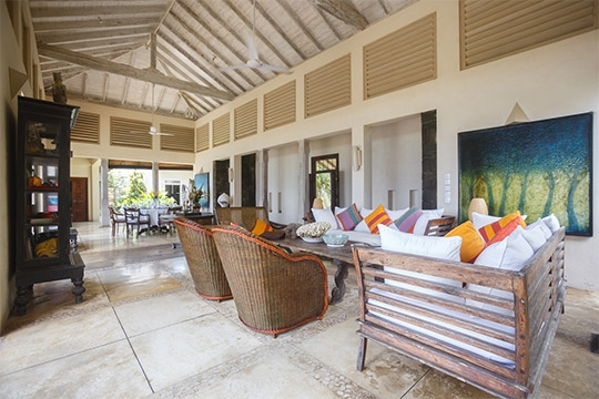 Living room - Ambalama, Talpe, South Coast